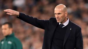 Real Madrid manager Zinedine Zidane has been linked with a return to Juventus (Nick Potts/PA)