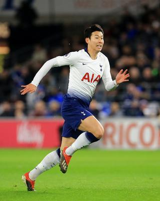 In-form Son Heung-min will not be available for the second leg against Chelsea (Mark Kerton/PA)