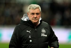 Steve Bruce is expected to remain as Newcastle manager if the club's takeover goes ahead (Mike Egerton/PA)
