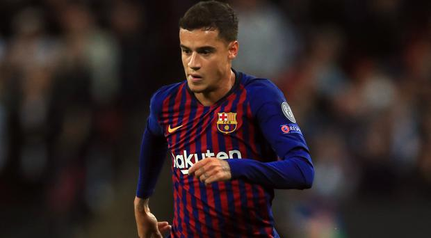 Philippe Coutinho is currently on loan at Bayern Munich from Barcelona (Mike Egerton/PA)