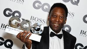 Pele insists he is on the road to recovery from hip surgery (Ian West/PA)
