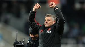 Manchester United interim manager Ole Gunnar Solskjaer is not interested in history (Owen Humphreys/PA)
