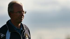 Sven-Goran Eriksson left Manchester City on this day in 2008 (Nick Potts/PA)