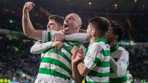 Scott Brown and his Celtic team-mates are back in training (Kenny Smith/PA)