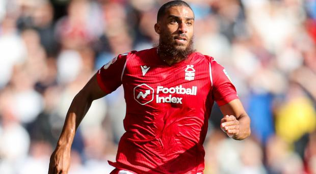 Lewis Grabban scored both Forest's goals in a 2-0 win at Hull.