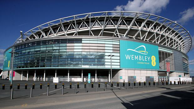 """Wembley stadium is a """"national asset"""", according to the DCMS Committee (Mike Egerton/PA Images)"""
