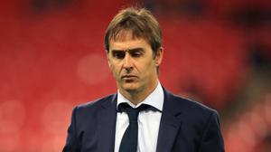 Julen Lopetegui saw his Sevilla side draw with Levante (Mike Egerton/PA)