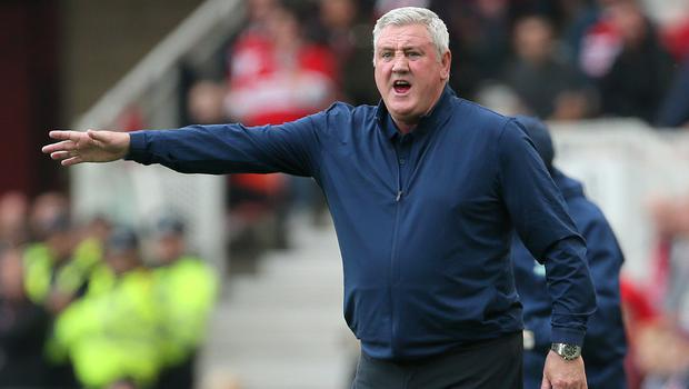 Aston Villa manager Steve Bruce has welcomed his team's spirit ahead of the play-off showdown with Fulham