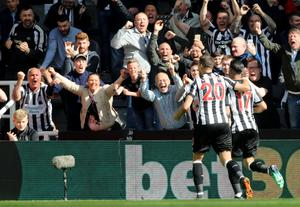 Another brace from Perez secured a 3-0 win over Chelsea and 10th place for Newcastle in the Premier League (Owen Humphreys/PA)