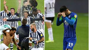 West Brom were promoted while Wigan went down (PA)