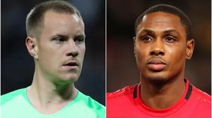 Will Marc-Andre Ter Stegen (left) and Odion Ighalo be signing new deals? (Nick Potts/Martin Rickett/PA)