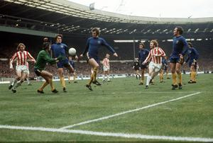 Bonetti, pictured making a save against Stoke in 1972, represented the Blues until 1979 (PA)