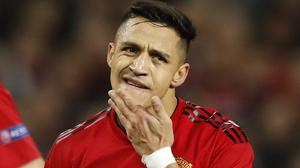 It has been a trying time for Alexis Sanchez at Manchester United (Martin Rickett/PA)