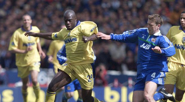 """Iffy Onuora, pictured during his playing days for Gillingham, has called for the courts to """"send a strong message"""" against racism (Tom Hevezi/PA)"""