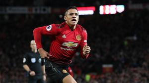 Manchester United's Alexis Sanchez could be heading for Paris St Germain, reports suggest (Martin Rickett/PA)