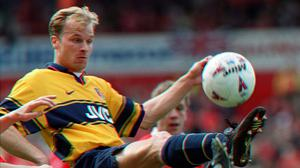 Arsenal great Dennis Bergkamp (Owen Humphreys/PA)