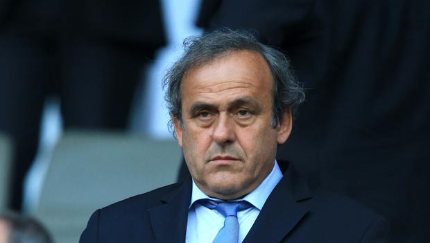 Platini is currently serving a four-year ban from involvement in football