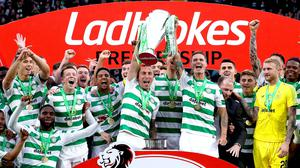 Celtic have been crowned Ladbrokes Premiership champions for a ninth time (Jane Barlow/PA)