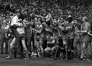 Terry Gibson was part of the Wimbledon side that won the FA Cup in 1988 (PA)