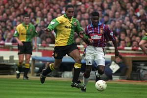 Tony Daley won the 1994 League Cup with Aston Villa. (PA)
