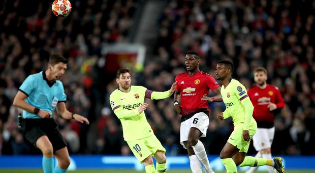 Manchester United and Barcelona are two of the financial powerhouses of the European game (Nick Potts/PA)