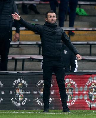 Luton have given themselves a chance of avoiding relegation following the return of manager Nathan Jones (Andrew Matthews/PA)