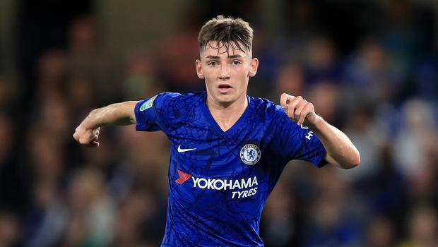 Billy Gilmour, pictured, has been promoted permanently to Chelsea's first team squad (Simon Cooper/PA)