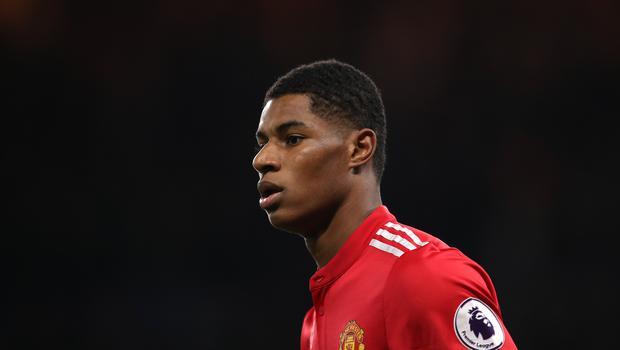 Manchester United's Marcus Rashford has remembered the Arena victims