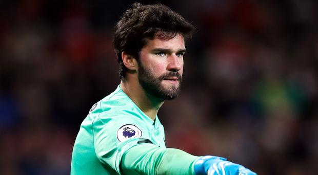 Goalkeeper Alisson Becker is keen to make history by helping Liverpool win the Club World Cup for the first time (Martin Rickett/PA)