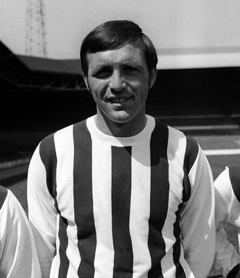 Former West Brom forward Jeff Astle died in 2002 (PA)