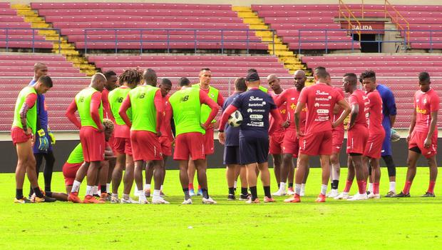 Panama train ahead of their friendly with Northern Ireland (PA)