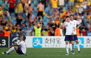 England Under-21s were stunned by Romania (Nick Potts/PA)