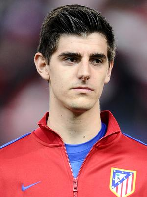 Thibaut Courtois spent three seasons on loan from Chelsea at Atletico Madrid