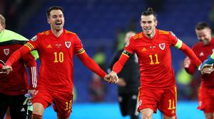 Aaron Ramsey (left) and Gareth Bale (right) are both included for Wales' opening Nations League fixtures (Nick Potts/PA)