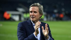 Aston Villa chief executive Christian Purslow is against completing the season at neutral venues (Nick Potts/PA)