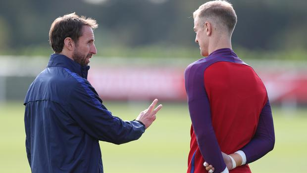 Joe Hart is said to have been told by England manager Gareth Southgate he is not going to the World Cup. (Andrew Matthews/PA Images)