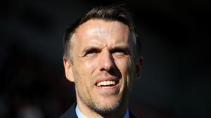 Phil Neville's England Women won the SheBelieves Cup (Tim Goode/PA)