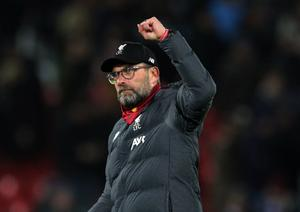 Jurgen Klopp was not getting carried away even with Liverpool on the brink of title glory (Peter Byrne/PA)