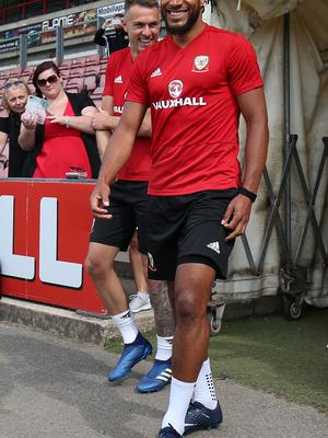 Williams is glad to be back on duty with Wales