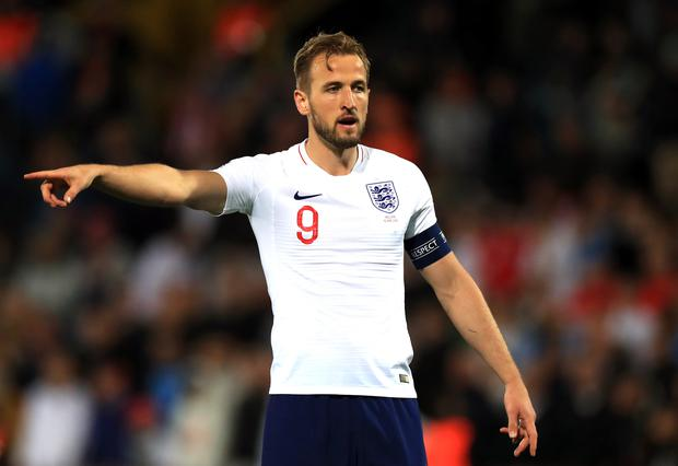 Harry Kane played 75 minutes before being replaced in the third-place play-off (Mike Egerton/PA)
