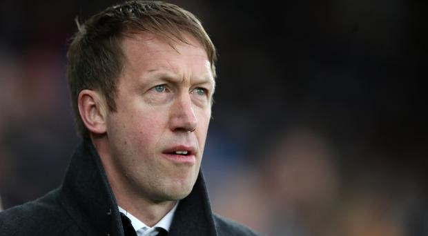 Graham Potter is expected to take over as Brighton manager (Nick Potts/PA)