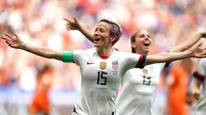 Megan Rapinoe has vowed to continue fighting for equality after US women lost a battle for equal pay (PA Archive)