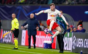 Timo Werner was in demand (John Walton/PA)