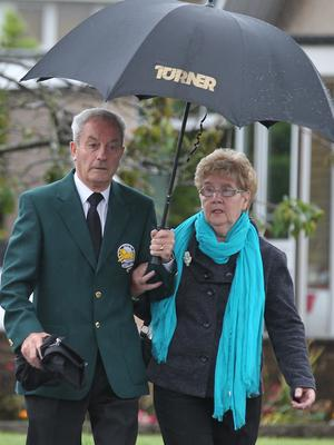 Stevie Chalmers and wife Sadie had six children (Andrew Milligan/PA)