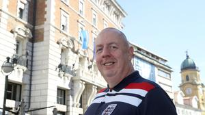Kevin Miles feels sorry for fellow England fans who are unable to attend Friday's game in Croatia (Tim Goode/PA)