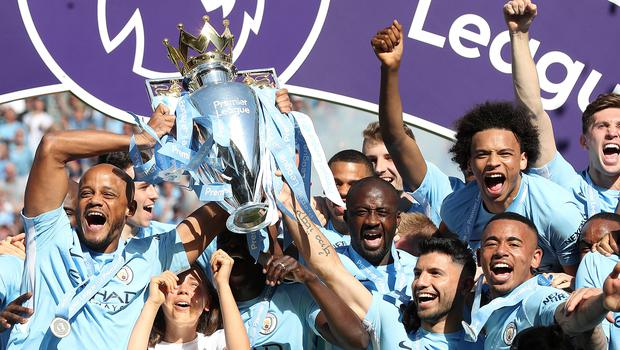 Manchester City won the title at a canter