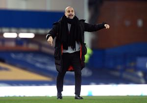 City boss Pep Guardiola insists he has prepared as he would for any other game (Michael Regan/PA)