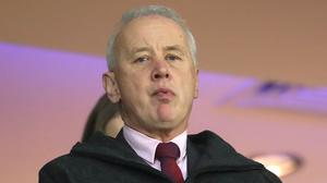 Rick Parry has called for calm amid speculation about what will happen next in the EFL (Mike Egerton/PA)