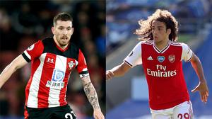 Pierre-Emile Hojbjerg and Matteo Guendouzi could be on the move (Gareth Fuller/Steve Paston/PA)