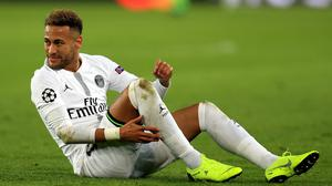Neymar has been handed a three-game European ban (Mike Egerton/PA).